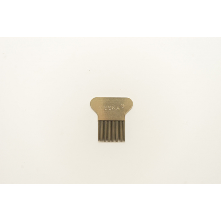 Метален чешел за отстранување на вошки Nisska