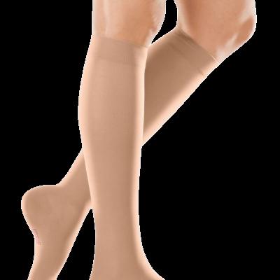 Медивен елеганс до колено  CCL1 (18-21 mmhg) и CCL2 (23-32 mmhg)