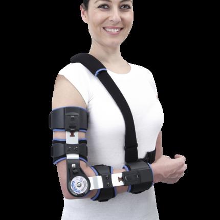 Надлактен корективен апарат со механизам за корекција на лакотен зглоб (Редерсман)